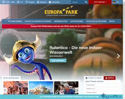 Europa Park shopping