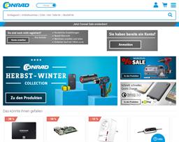 Conrad Electronic shopping