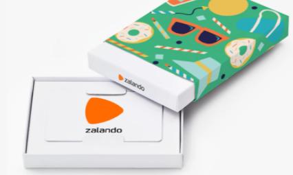 zalando gift card design and art work