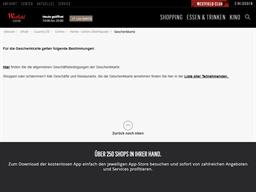 Centro Oberhausen gift card purchase