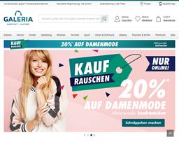 Galeria Kaufhof shopping