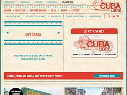 Cuba Libre gift card purchase