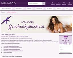 LASCANA gift card purchase