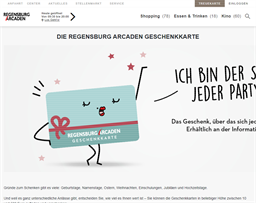 Regensburg Arcaden gift card purchase
