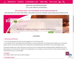 Viba Thüringen gift card balance check