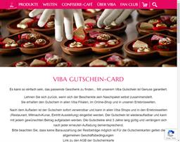 Viba Thüringen gift card purchase