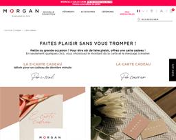 Morgan De Toi gift card purchase