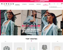 Morgan De Toi shopping