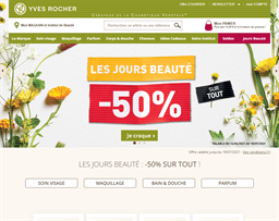Yves Rocher shopping