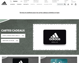 Adidas gift card purchase