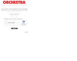 Orchestra gift card balance check