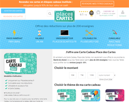 Place Des Cartes gift card purchase