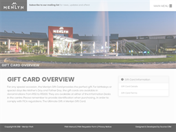 Menlyn Park gift card purchase