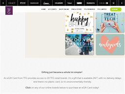 The Foschini Group gift card purchase