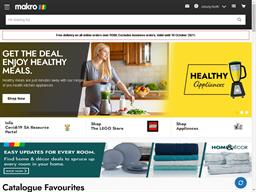 Makro Online Site shopping