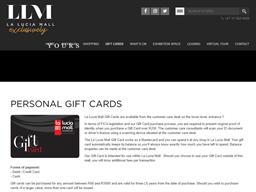 La Lucia Mall gift card purchase