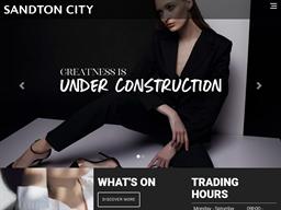 Sandton City shopping