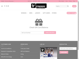 Freddy gift card balance check