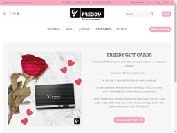 Freddy gift card purchase