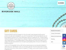 Riverside Mall gift card purchase