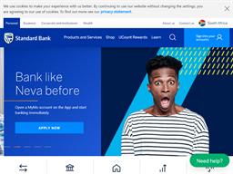 Standard Bank shopping