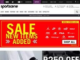 Sport Scene shopping