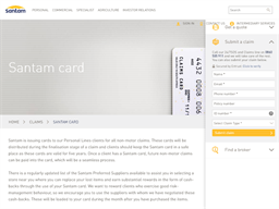 The Santam Card gift card purchase