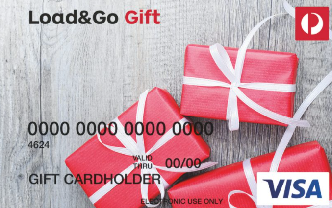 Australia Post Load & Go Gift Card gift card design and art work