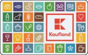 Kaufland gift card design and art work