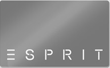 Esprit gift card design and art work