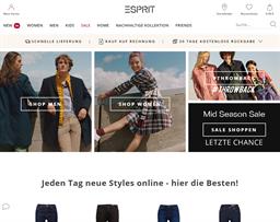 Esprit shopping