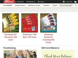 Dierbergs Markets gift card purchase