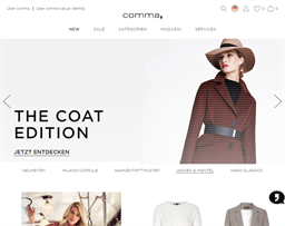 Comma Store shopping