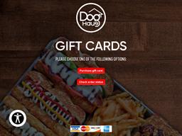 Dog Haus gift card balance check