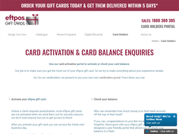 Eftpos Gift Cards gift card purchase