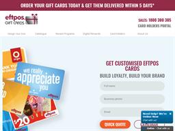 Eftpos Gift Cards shopping