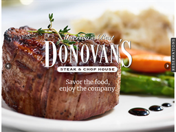 Donovan's Prime Steakhouse shopping