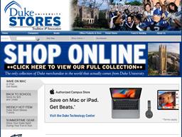 Duke University Store shopping