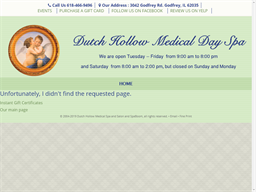 Dutch Hollow Day Spa shopping
