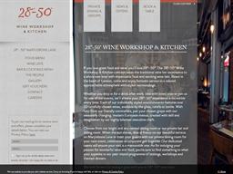 28-50 Wine Workshop & Kitchen shopping