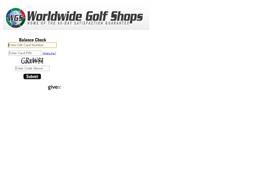 Edwin Watts Golf gift card balance check