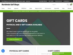 Edwin Watts Golf gift card purchase