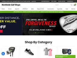 Edwin Watts Golf shopping