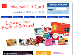 Universal Gift Card gift card balance check