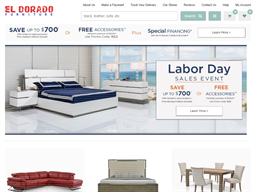 El Dorado Furniture shopping
