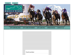 Emerald Downs gift card purchase