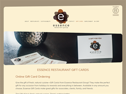 Essence Restaurant Group gift card purchase
