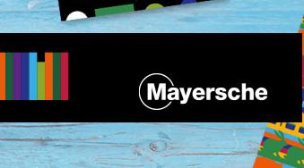 Mayersche gift card design and art work