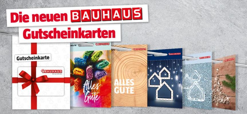 Bauhaus gift card design and art work
