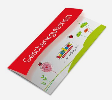 BabyOne gift card design and art work